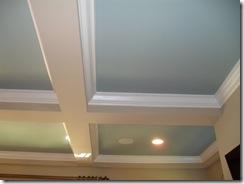 detail ceiling blue