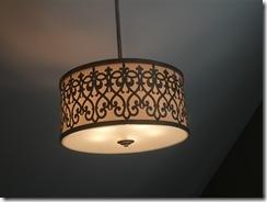 detail hanging light