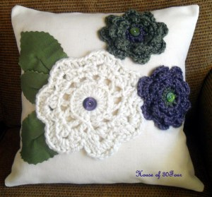 Handmade Christmas Gift #2 - Crochet Pillow