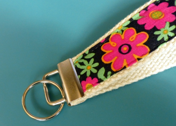 key fob finished sample