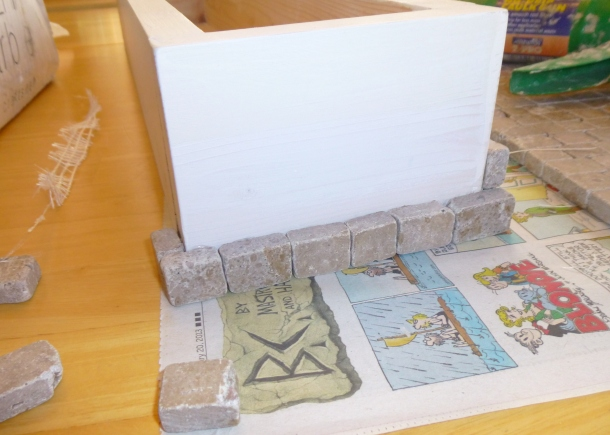 beginning tiling
